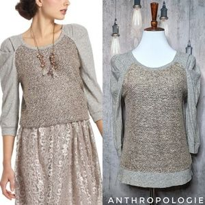 Anthropologie Meadow Rue Galaxy Skies Sweatshirt